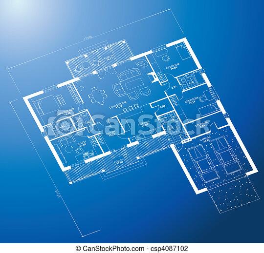 Architectural blueprint background vector architectural white architectural blueprint background vector malvernweather Gallery