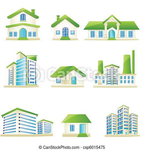 Architectural Building - csp6015475