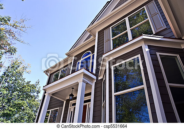Architectural Details on House - csp5531664