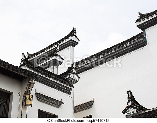 Architectural Elements Of Traditional Chinese Design Chinese Ancient Architectural Roof Details Of Hui Style Hui Style