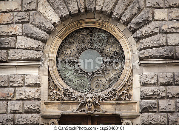 architectural feature of the circle - csp28480101