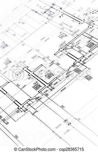 Architectural Floor Plan Blueprint Floor Plans Engineering And Architecture Drawings Canstock