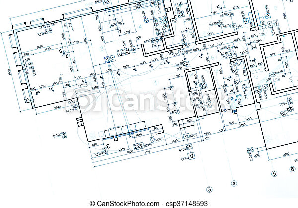 Architectural Plan Part Of Architectural Project Technical Drawing