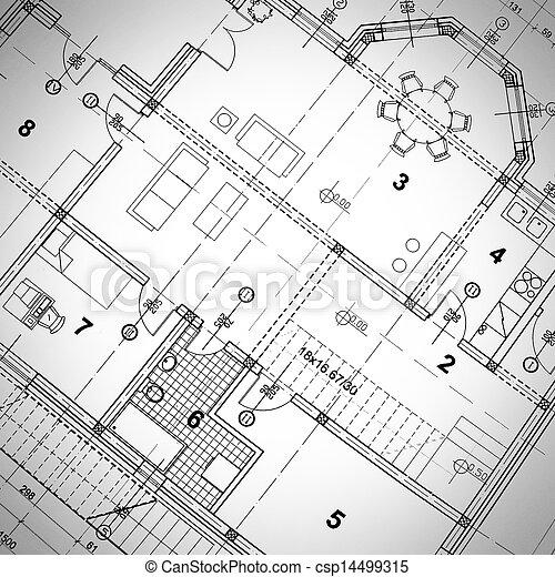 Architectural Plan - csp14499315