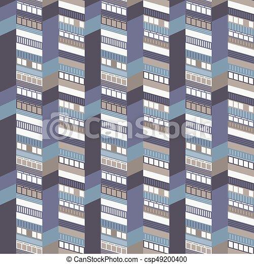 Architectural Seamless Pattern - csp49200400