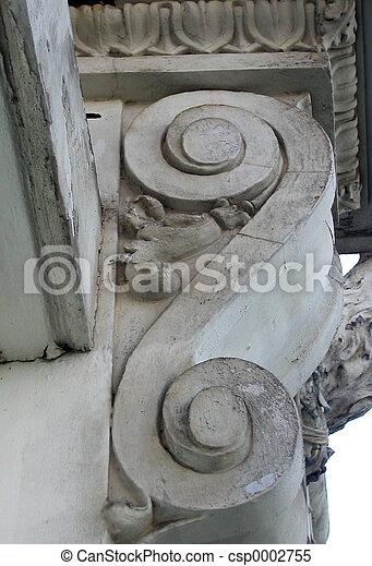 Architectural Swirl - csp0002755