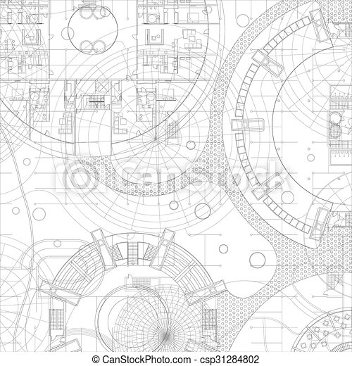 Architectural vector blueprint architectural blueprint vector architectural vector blueprint malvernweather Gallery