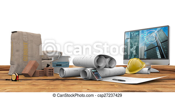 architecture and construction - csp27237429