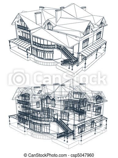 Architecture blueprint of a house vector architecture vector architecture blueprint of a house vector malvernweather Choice Image