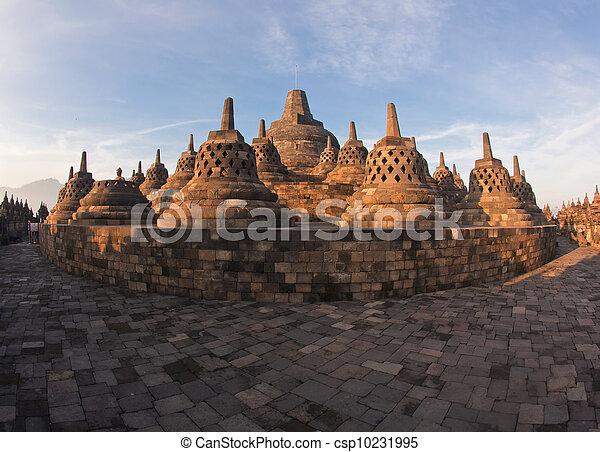 Architecture Borobudur Temple - csp10231995