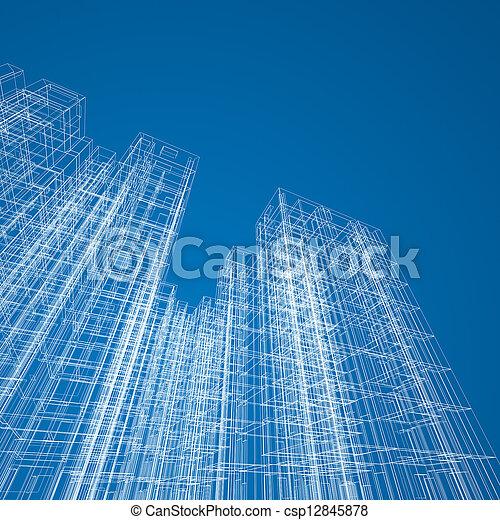 Architecture construction - csp12845878