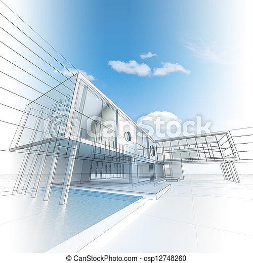 Architecture construction - csp12748260