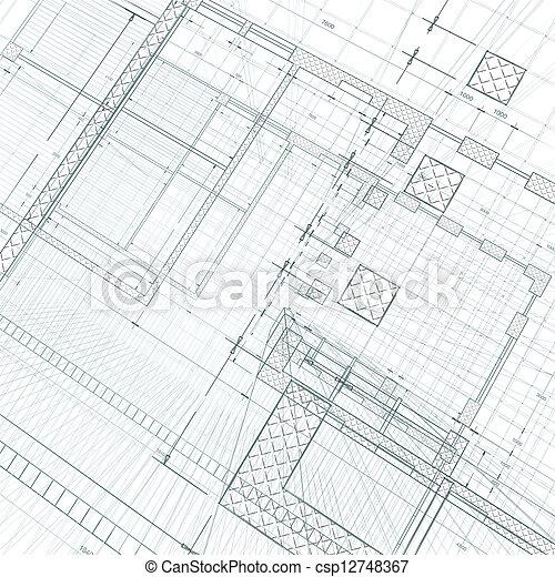Architecture construction - csp12748367