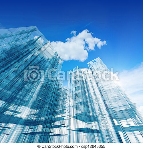 Architecture construction - csp12845855
