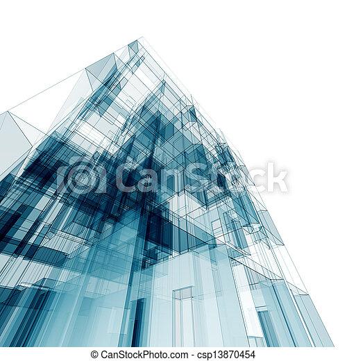 Architecture construction - csp13870454