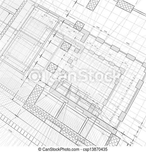 Architecture construction - csp13870435