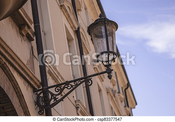 Architecture details from old historical building in Padova 2 - csp83377547