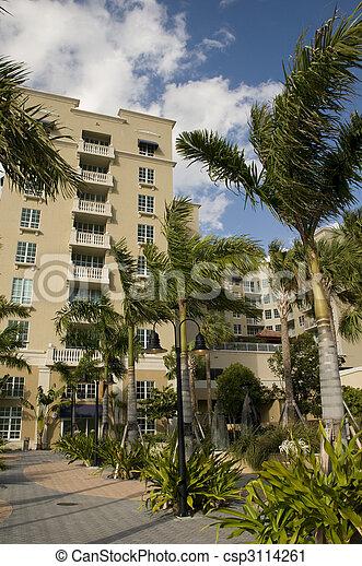Architecture in West Palm Beach - csp3114261