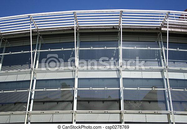 architecture moderne, détail - csp0278769
