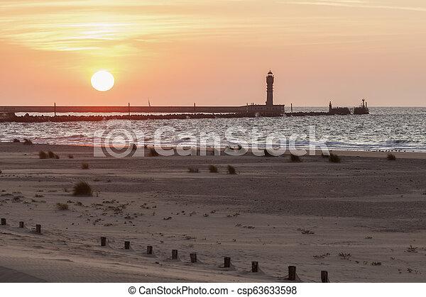 Architecture of Dunkirk - csp63633598