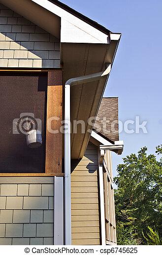 Architecturea Detail Gutters - csp6745625