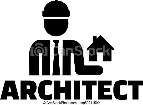 Suche Architekt architekt ikone eps vektoren suche clipart illustration