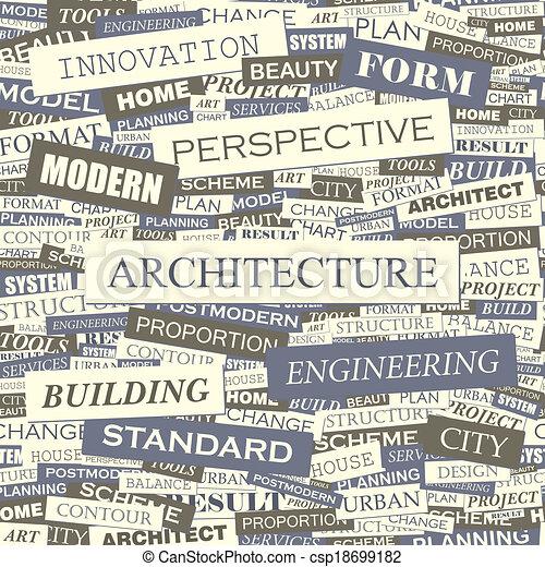 architektur - csp18699182