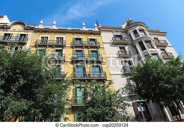 architektura, barcelona - csp20259124