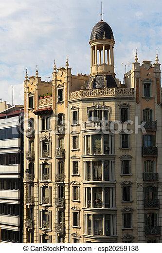 architektura, barcelona - csp20259138