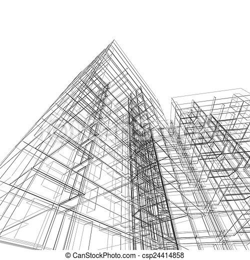 architektura - csp24414858
