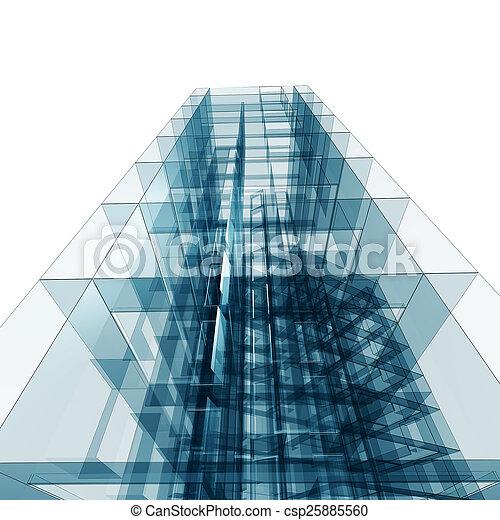 architektura - csp25885560