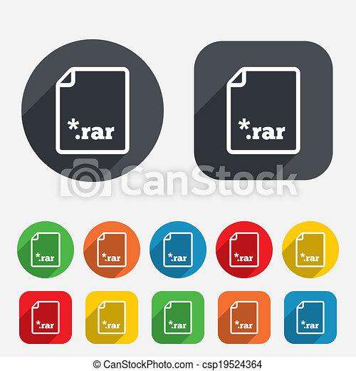 what an rar file extension