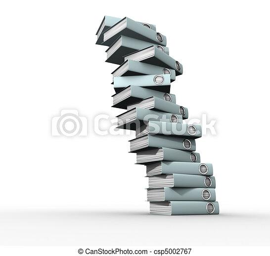 Un montón de archivos - csp5002767