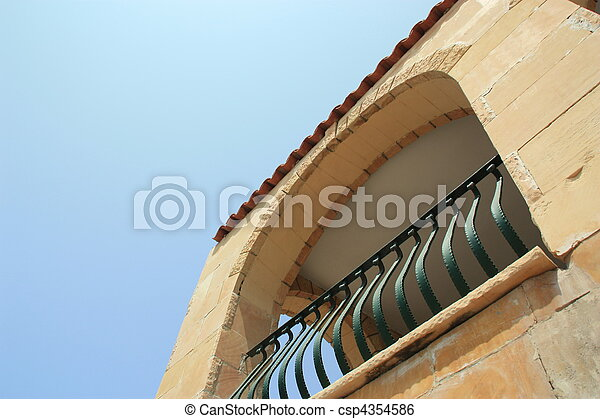archway building - csp4354586