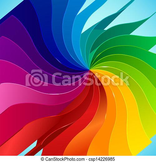 Arco íris, livro, fundo, coloridos, páginas. Arco íris,... vetor ...