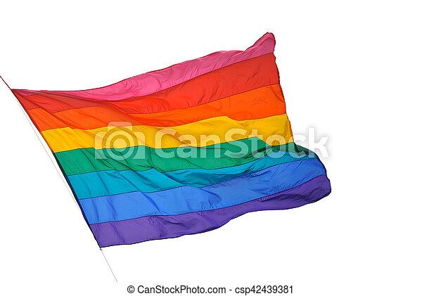 bandera rojo amarillo y violeta