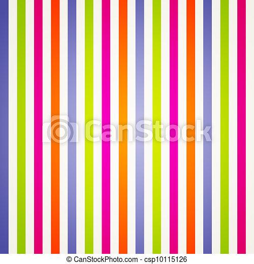 Rayas de arco iris brillantes - csp10115126
