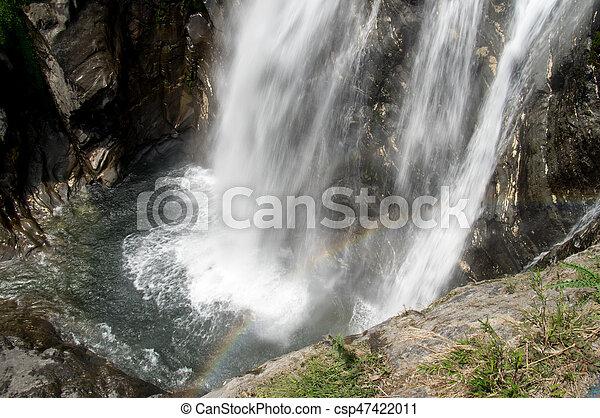 arco irirs, cascada - csp47422011
