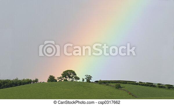 Fin del arco iris - csp0317662