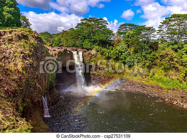 arco irirs, hawai, bajas - csp27531109