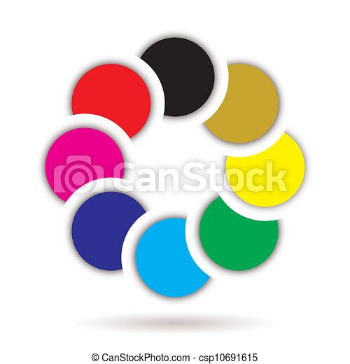 icono arcoiris - csp10691615