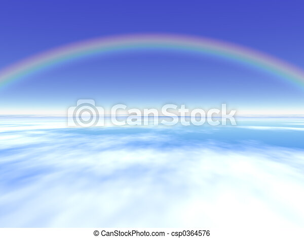 Arco iris - csp0364576