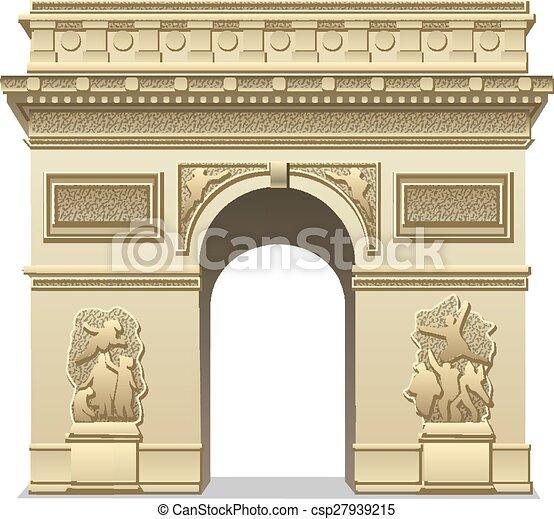 Arco Triunfo - csp27939215