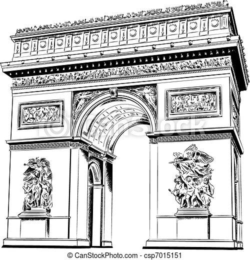 arco, triunfo - csp7015151