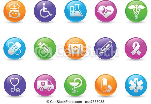arcobaleno, &, /, brughiera, medicina, cura - csp7557088