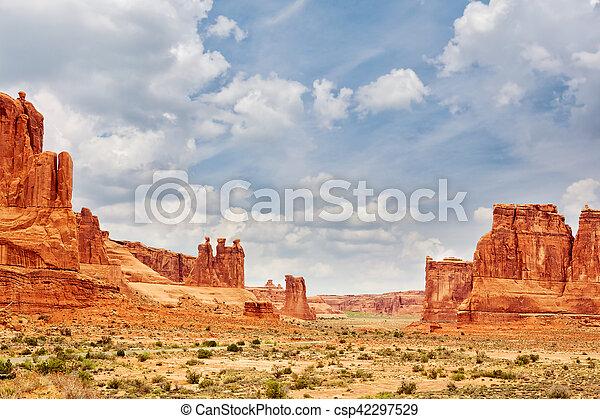Parque Nacional Arches - csp42297529