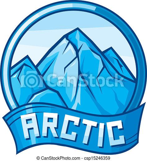 arctic design (arctic label) - csp15246359