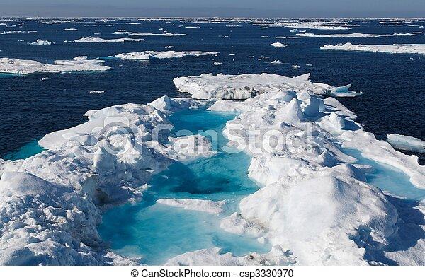 Nunavut (canadian arctic) - csp3330970