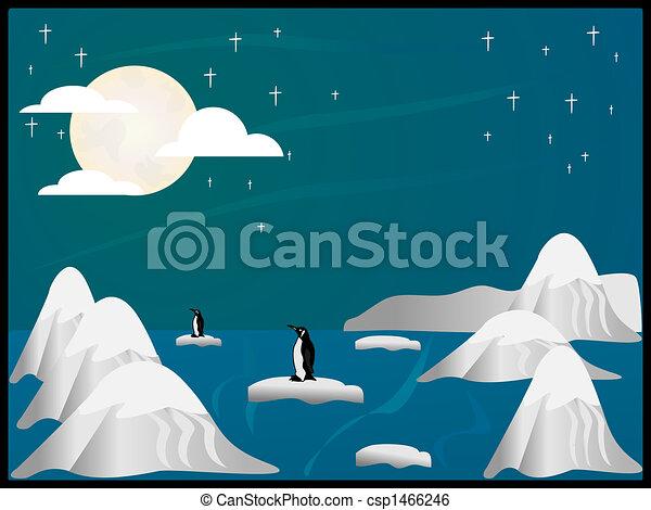 arctic scene - csp1466246