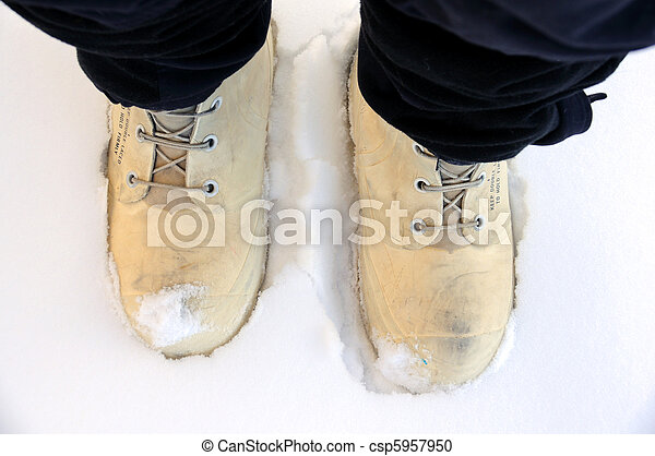 Arctic Survival Winter Boots and Snow Pants - csp5957950